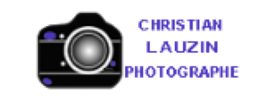 logo christian lauzin photographie