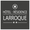 logo hotel larroque 1